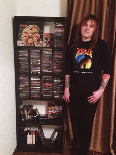 Metal Priest & CD collection