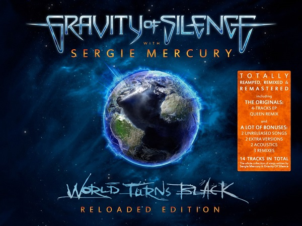 GRAVITY OF SILENCE - World Turns Black [Reloaded Edition. Part 1] (EP, 2014)