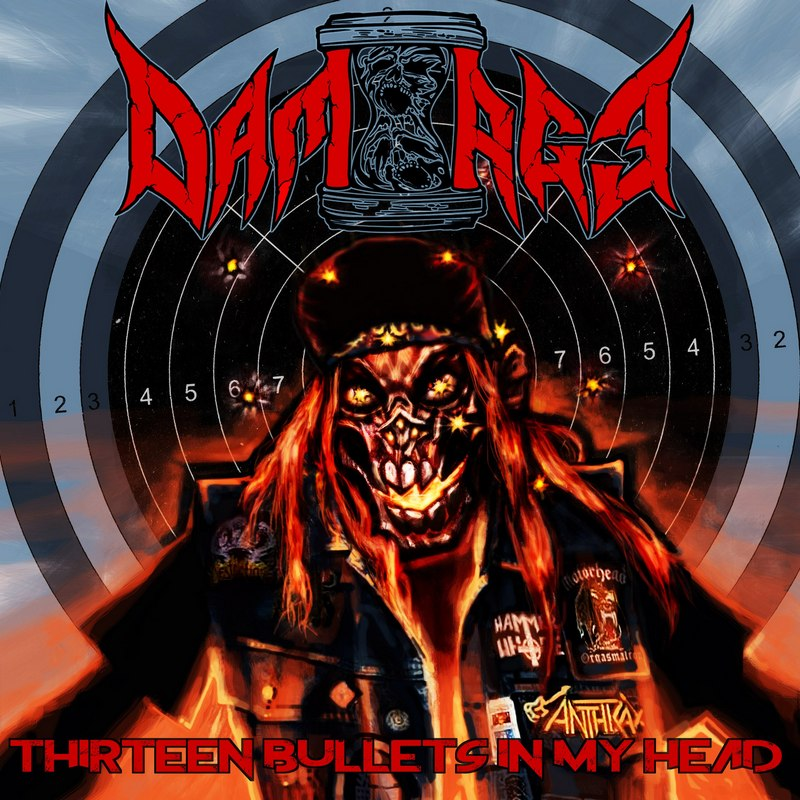 DAM-AGE — «Thirteen Bullets In My Head» (2018) [EP]