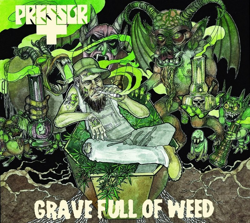 PRESSOR — «Grave Full Of Weeds» (2012) [EP]
