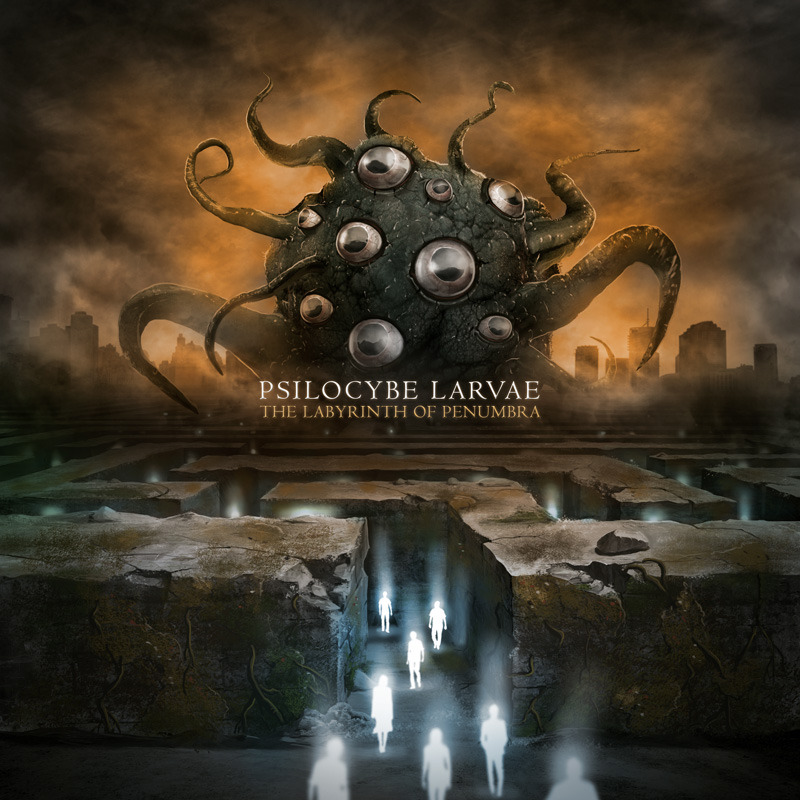 PSILOCYBE LARVAE - The Labyrinth Of Penumbra (2012)